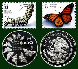 Monarch_Stamps_and_Coin.jpg