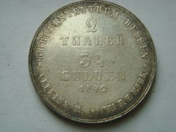1842-GERMANY-Hesse-Cassel-Two-Thaler-High-Guality.jpg
