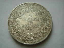 1847-A-GERMANY-Waldeck-Pyrmont-Two-Thaler-High-Guality.jpg