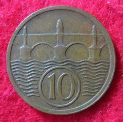 1921-1938 Republik, 10 Haleru 1925 (2).JPG