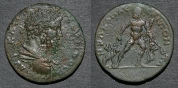 Septimius Severus - Heracles with Cerberos.jpg