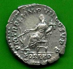 Denar Commodus C. 150 (a) Rv. PM TR P XI  IMP VII COS V PP - FOR RED. Fortuna li..jpg